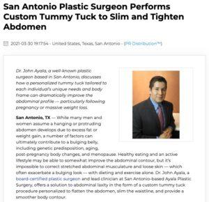 Dr. John Ayala Performs Personalized Abdominoplasty to Flatten Abdomen
